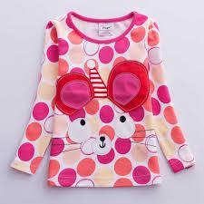 Girl <b>clothes</b> neat Nova o neck cotton child <b>clothes fashion dot print</b> ...