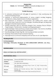 etl testing resume informatica cipanewsletter resume 11 2015