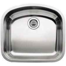 undermount kitchen sink stainless steel: wave undermount stainless steel  in single bowl kitchen sink