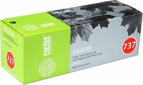 <b>Картридж Cactus CS-C737</b>, черный, для лазерного принтера ...