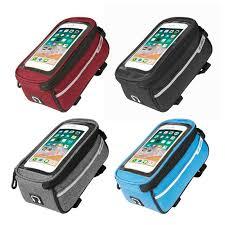 <b>B SOUL</b> Waterproof <b>MTB</b> Road Bike Front Tube Bag 6inch Phone ...