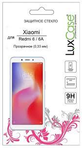 <b>Защитное стекло LuxCase для</b> Xiaomi Redmi 6/6А — купить по ...
