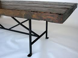 iron dining table bases