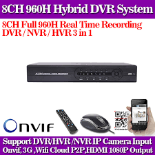 <b>CCTV DVR</b> WIFI 8 Channel ONVIF 8ch <b>H</b>.<b>264</b> 960h Super <b>DVR</b> ...