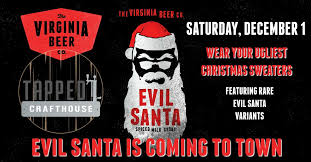 <b>Evil Santa</b> Party - Tapped Crafthouse
