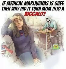 Marijuana, not even once. - Imgur via Relatably.com