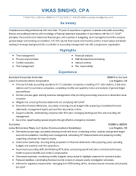 professional assistant corporate controller templates to showcase resume templates assistant corporate controller
