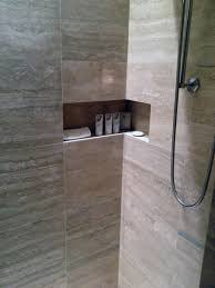 This Cool Shower Niche Wraps The Corner At The St Regis Bal - Bathroom wraps