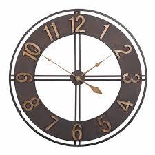 <b>Large</b> Retro 3d <b>Wall</b> Clock <b>Metal Creative</b> European Style <b>Big</b> ...