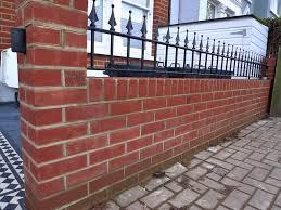 victorian front company london walls red brick formal bespoke tile grey path wrought rail metal gate earsfield battersea streatham clapham bespoke wall storage