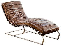regina andrew vintage brown leather lounge chaise chatwin lounge chair lounge
