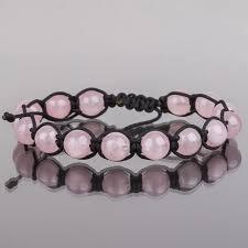 <b>Браслет</b> Шамбала <b>Розовый кварц</b> 15 бусин (Бразилия) 068799 ...