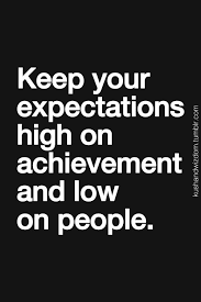 High Expectations on Pinterest | High Expectations Quotes, Leo ... via Relatably.com