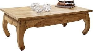 FineBuy <b>Coffee table</b> Acacia Solid wood <b>110x40x60</b> cm Country ...