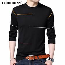 COODRONY Cashmere Wool Sweater <b>Men</b> Brand Clothing <b>2019</b> ...