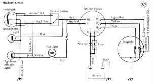 servicemanuals motorcycle how to and repair ke100 km100 headlight wiring