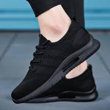 <b>Men</b> Running Shoes <b>2019 Summer</b> Air <b>Mesh</b> Breathable Adult Male ...