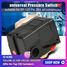 <b>1 pcs Universal</b> Pressure Switch 95-125 Psi For Air Compressor ...
