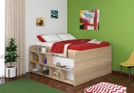 Двуспальная <b>кровать Twist</b> Up <b>левая</b> Дуб сонома купить по цене ...