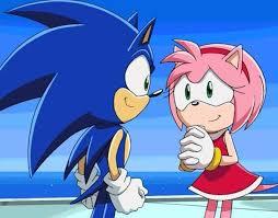 نتیجه تصویری برای sonic and amy