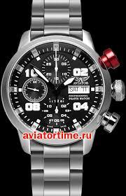 Швейцарские наручные <b>мужские часы AVIATOR P</b>.<b>4.06.0.016</b>.5 ...