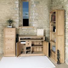 mobel oak hidden home office buy online at wooden furniture store baumhaus aston oak hidden