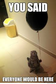 Sad Birthday Cat | WeKnowMemes via Relatably.com