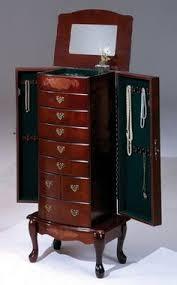 opentipcom bernards 7202 large jewelry armoire 1375 x 4075 x 19 amazoncom antique jewelry armoire