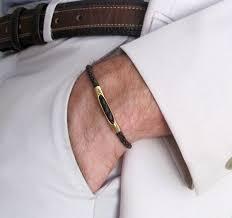 <b>Leather</b> Braided <b>Bracelet</b>. Black <b>Adjustable Bracelet</b>. Unisex Mens ...