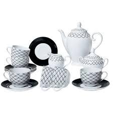 Чайные/кофейные сервизы | <b>Сервиз чайный на 6</b> персон 15пр ...
