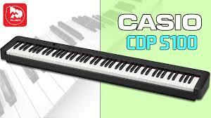 <b>Цифровое пианино Casio CDP- S100</b> - YouTube