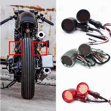 new <b>Universal</b> Motorcycle retro <b>TailLight brake</b> light License Plate ...