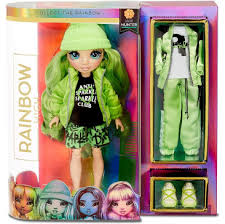 <b>Кукла Rainbow High</b> Surprise Dolls Jade Hunter зеленая Fashion ...