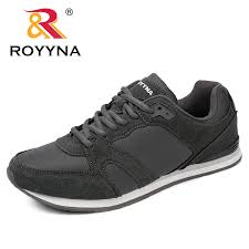 ROYYNA <b>Spring</b> Autumn New Style <b>Men Casual</b> Shoes Lace Up ...