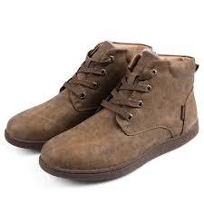 <b>Men</b> Retro <b>Winter Warm</b> Cotton-padded Leather Boots Sale, Price ...