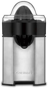 Cuisinart CCJ-500 Pulp Control Citrus Juicer, Brushed <b>Stainless</b>
