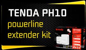 Обзор Комплекта Сетевых <b>Адаптеров Powerline Tenda</b> PH10 ...