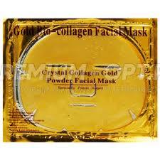 <b>Коллагеновая маска</b> для лица <b>Gold</b> Bio-collagen Facial Mask оптом