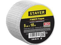 <b>Серпянка самоклеящаяся</b> 5 см х 10м <b>Stayer</b> 1246-05-10_z01 ...