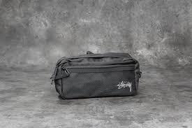 Поясные <b>сумки Stüssy Stock Side</b> Bag Black | Footshop