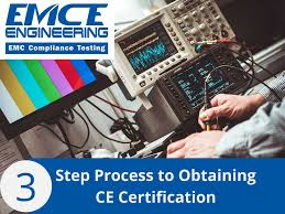 <b>3</b>-Step Process to Obtaining <b>Ce Certification</b> - EMCE Engineering