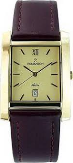 Мужские <b>часы Romanson</b> Adel <b>TL0226SXG</b>(<b>GD</b>)