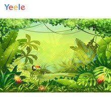 <b>Yeele Summer</b> Green Tropical Palm Tree Jungle Baby Portrait ...