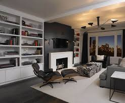 Of Living Rooms With Black Leather Furniture 17 Zebra Living Room Decor Ideas Pictures