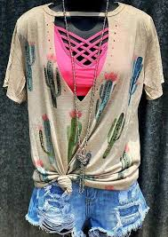 Summer Women Cactus <b>Hollow Out</b> Harajuku <b>T Shirt</b> Vogue Flesh ...