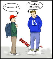 student uvi voice freshman 15 comic