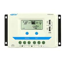 EPEVER PWM 60A Solar Charge Controller 12V/24V ... - Amazon.com