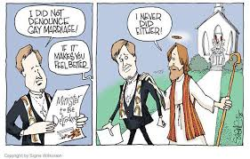 robots author kirsten palladino signe wilkinson minister defrocked gay marriage cartoon jesus