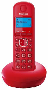 Купить <b>Радиотелефон Panasonic KX</b>-<b>TGB210</b> красный по низкой ...