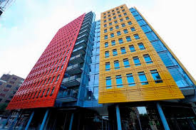 4 central st giles london bright art architecture 14 bright buildings art meets architecture to create brightly colored offices central st